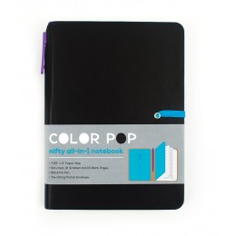 LIBRETA COLOR POP - NEGRO