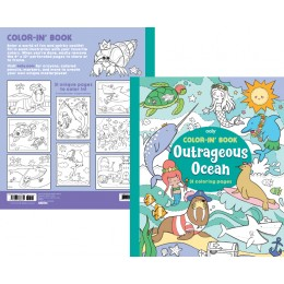 COLOR IN BOOK - OUTRAGEOUS OCEAN
