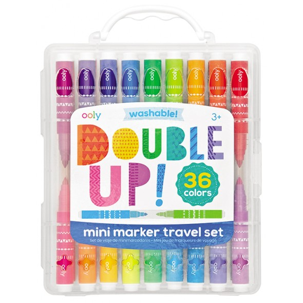 MARCADORES MINI DOUBLE UP 2 IN 1
