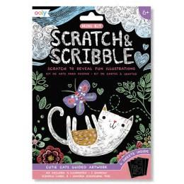 MINI SCRATCH & SCRIBBLE - CUTIE CATS