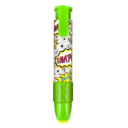 COMIC ATTACK CLICK IT ERASERS GREEN