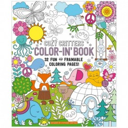 COLORING BOOK COZY CRITTERS