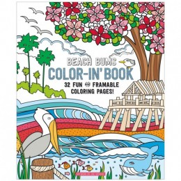 COLORING BOOK BEACH BUMS