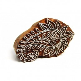 SPROUTING PAISLEY STAMP