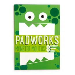 LIBRETA MONSTER MOUTHS