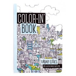 COLORING BOOKS URBAN CITIES