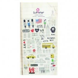 NEW YORK DIARY STICKERS
