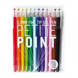 PETITE POINT FINE TIP GEL PENS