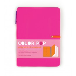 LIBRETA COLOR POP - ROSA