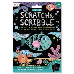 MINI SCRATCH & SCRIBBLE - FRIENDLY FISH