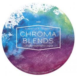 BLOC ACUARELA CHROMA BLENDS CIRCULAR