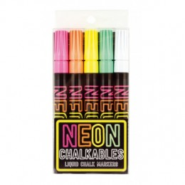 ROTULADORES NEON CHALKABLES