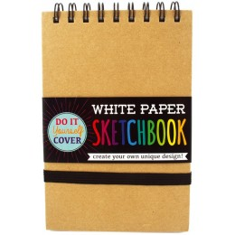 WHITE DIY COVER SKETCHBOOK