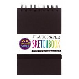BLACK DIY COVER SKETCHBOOK