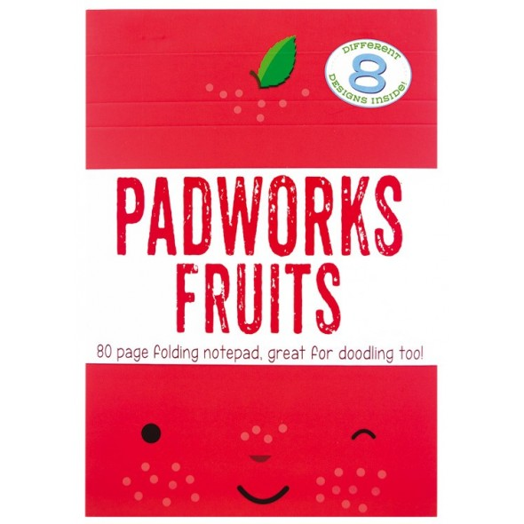PADWORKS NOTEPAD FRESH FRUITS
