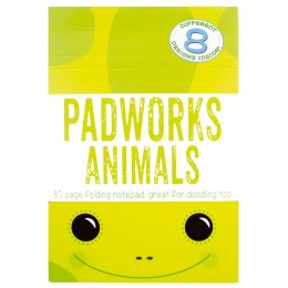 PADWORKS NOTEPAD ANIMALS