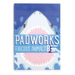PADWORKS FEROCIOUS ANIMALS NOTEPAD