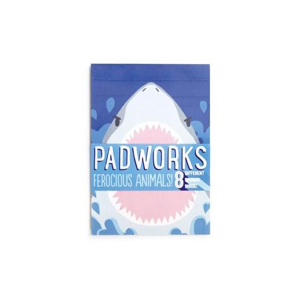 PADWORKS FEROCIOUS ANIMALS NOTEPAD