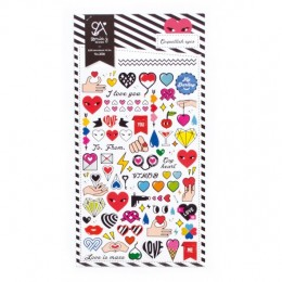 COQUETTISH EYES STICKERS
