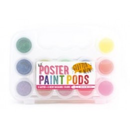 LIL' PODS POSTER STICKERS